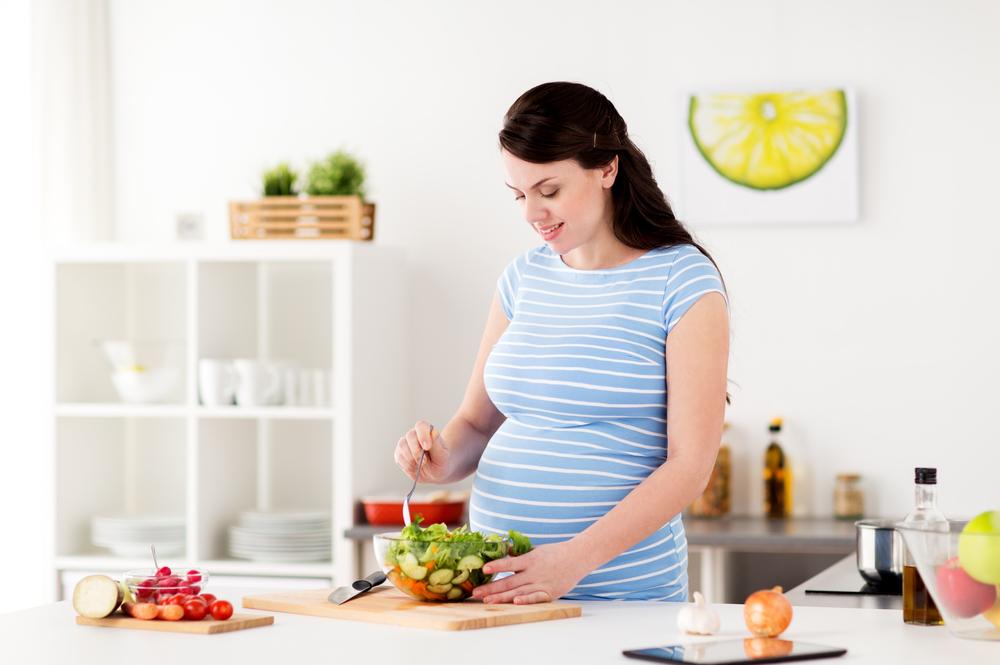 Mẹ nên nhớ chế độ dinh dưỡng cho tháng cuối là vô cùng quan trọng theo cách thai giáo của người Nhật