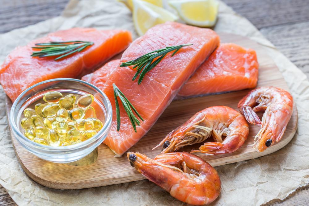 Các loại cá là nguồn bổ sung dồi dào Omega 3 cho con yêu
