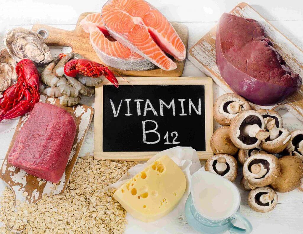 Kết quả hình ảnh cho bổ sung vitamin b12 cho bà bầu