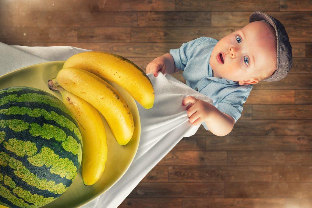 Con yêu có kích thước như một quả chuối ở tuần thứ 20