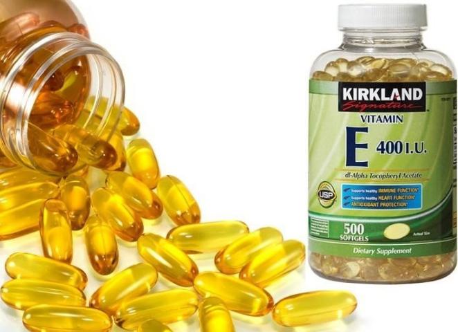 Có nhiều loại vitamin E trên thị trường hiện nay