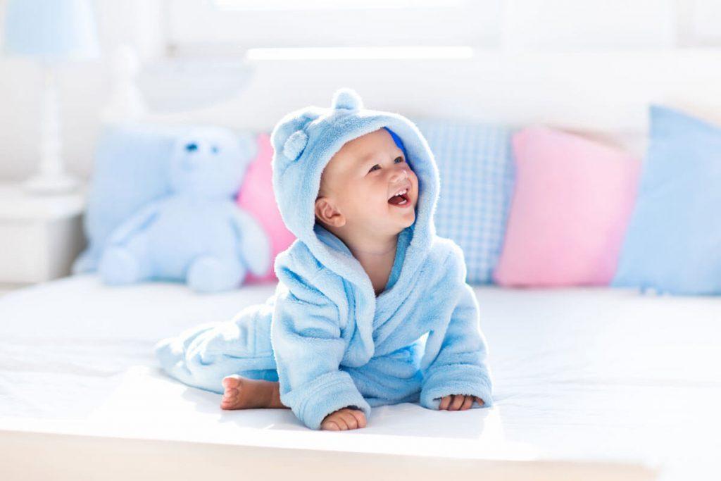 Bài tập lẫy cho trẻ sơ sinh