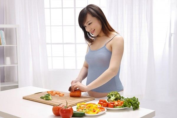Chế độ dinh dưỡng cho bà bầu tuần thứ 8 rất quan trọng
