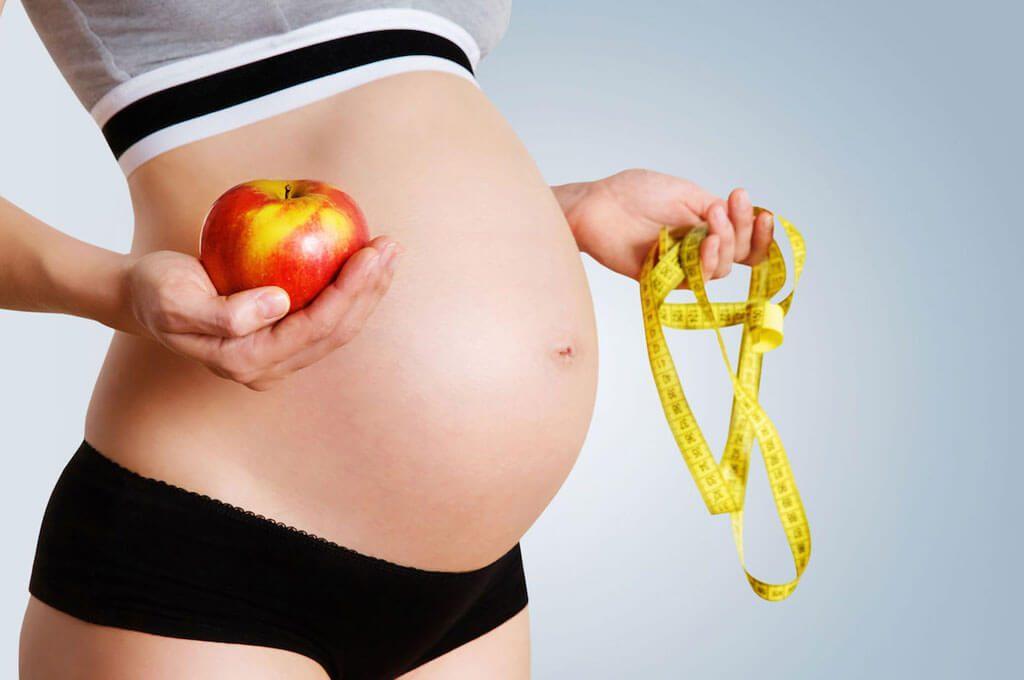 Mẹ bầu tăng cân đúng chuẩn (1)