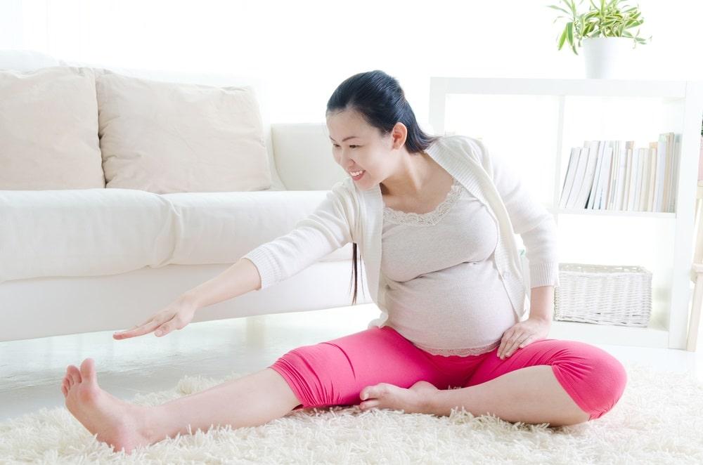 Tập luyện hợp lý giúp cải thiện giãn tĩnh mạch ở mẹ bầu