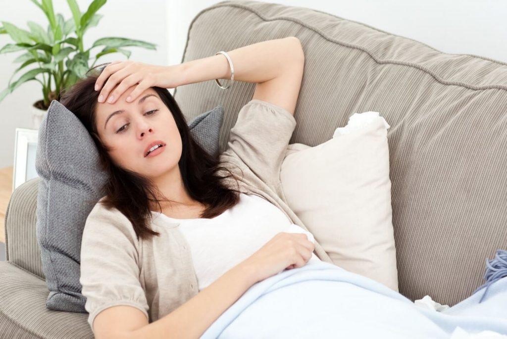 Mẹ bầu bị sốt xuất huyết khi mang thai 3 tháng đầu